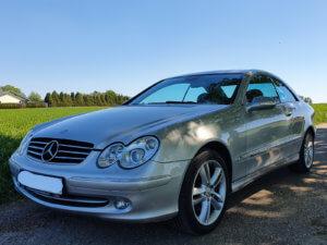 Unser Mercedes-Benz CLK240 (C209)