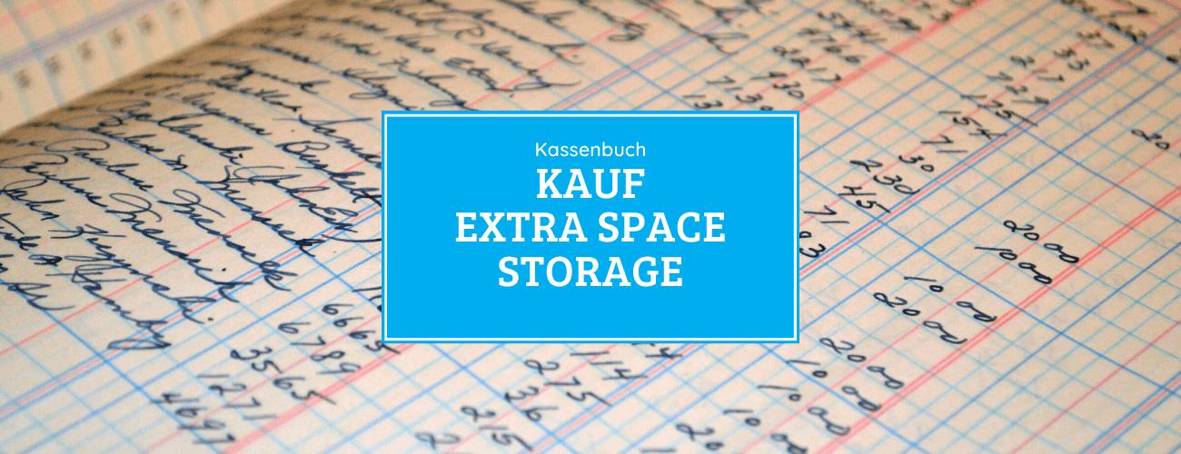 Kassenbuch - Kauf der Extra Space Storage Aktie 09.06.2020