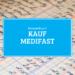 Kassenbuch - Kauf der Medifast Aktie 27.08.2021